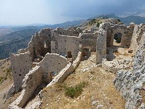Castle of Stilo - Image: Castello di Stilo interno