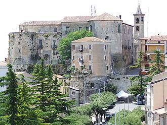 Caggiano - Image: Castello in Caggiano