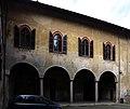 Castiglione olona, palazzo branda, esterno, loggia sul giardino 03.jpg