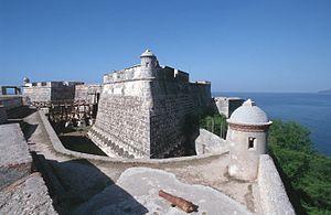 Battista Antonelli - San Pedro de la Roca Fortress in Cuba. World Heritage.