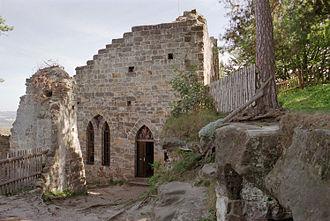 Waldstein family - Valdštejn Castle ruins in northern Czech Republic