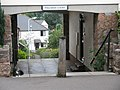 Cat taking it easy at entrance to Pollards Court - geograph.org.uk - 927866.jpg