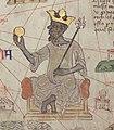 Catalan Atlas BNF Sheet 6 Mansa Musa (cropped).jpg