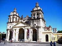 The Cathedral of Córdoba, dating back to the seventeenth century.