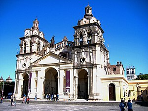 The Cathedral of Córdoba, Argentina.