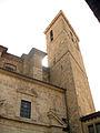 Catedral de Sogorb, timpà de la façana oest i campanar.jpg