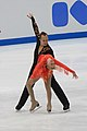 Caydee Denney and Jeremy Barrett at 2009 NHK Trophy.jpg