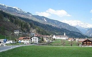 Cazis Place in Graubünden, Switzerland