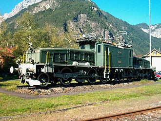 Crocodile (locomotive) - Image: Ce 6 8