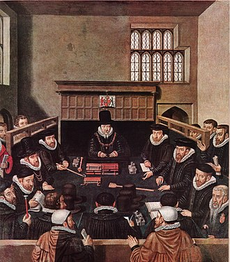 William Cecil, 1st Baron Burghley - Cecil presiding over the Court of Wards