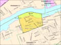 Census Bureau map of Beverly, New Jersey.png