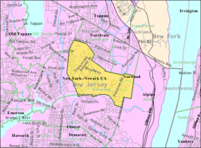 Census Bureau map of Norwood, New Jersey.png