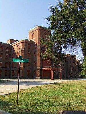 The Center Building at St. Elizabeths Hospital in Washington, D.C.