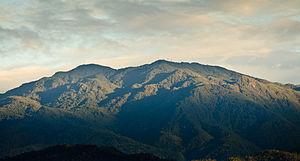 San José Province - Cerro de la Muerte, southeast of the province