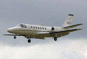 Cessna Citation V - A UC-35A Citation 560 Ultra V of the US Army in Europe at RIAT 2008