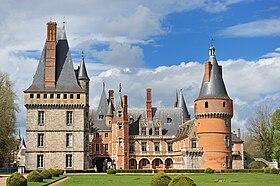 Le château de Maintenon.