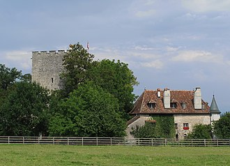 Barberêche - Image: Château de Petit Vivy