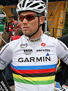 Thor Hushovd Norwegian road bicycle racer