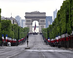 Victory in Europe Day - VE Day 70th anniversary ceremony in Paris