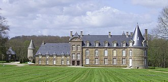 Canisy - The château de Canisy