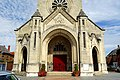 Chauny (02), église Saint-Martin, porche, vue depuis l'ouest.jpg
