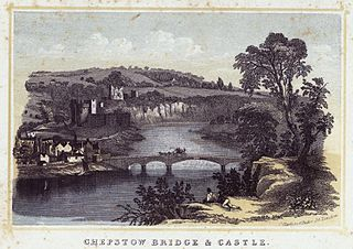 Chepstow bridge & castle
