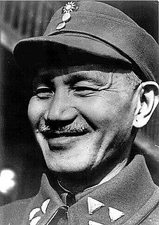 Chiang Kai-shek Chinese politician and military leader (1887–1975)