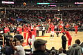 Chicago Bulls players warm up 2012-02-22.jpg