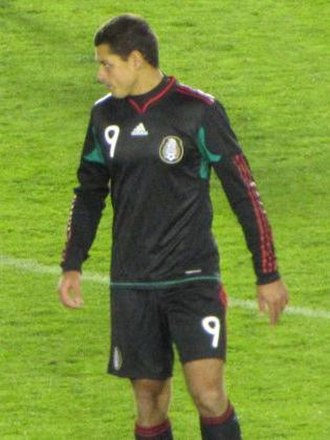 Javier Hernández - Hernández playing for Mexico