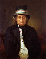 Portrait of Menominee Chief Oshkosh