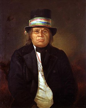 Menominee - Chief Oshkosh, c.1859