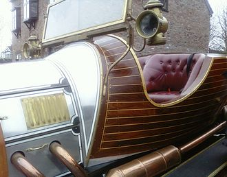 Chitty Chitty Bang Bang (car) - Close up of Tony Green's replica car