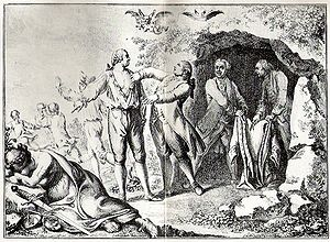 Daniel Chodowiecki - Cartoon etching by Chodowiecki, 1781, on the Partition of Poland
