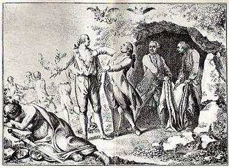Daniel Chodowiecki - Cartoon etching by Chodowiecki, 1781, on the Partition of Poland