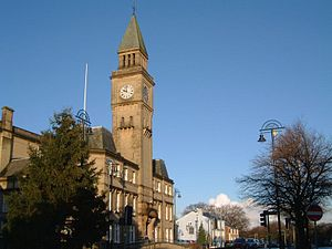 Chorley - Chorley Town Hall (opened 1879)