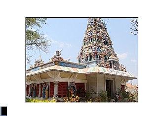 Chowdeshwari Temple - Image: Chowdeshwari Temple Entrance 1