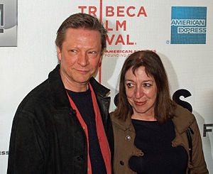 Chris Cooper - Cooper and wife Marianne Leone Cooper, April 2007