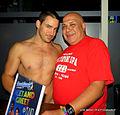 Chris Rockaway (Randy Blue) & I at Rain on 4th in Austin, TX. (8147238728).jpg