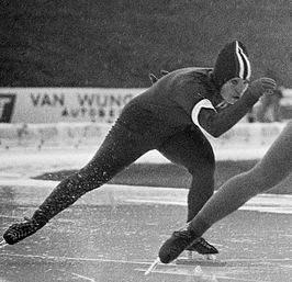 Christa Jaarsma in 1976