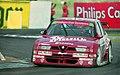 Christian Danner -Schubel Engineering - Alfa Romeo 155 V6 TI 94 exits The Esses (46745275811).jpg
