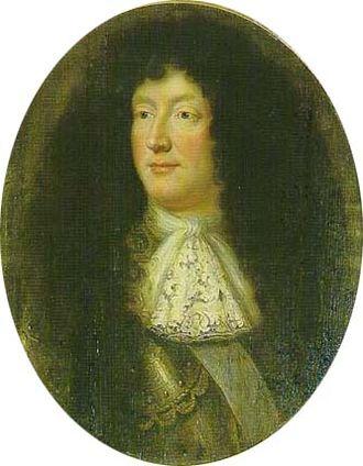 Christian Louis I, Duke of Mecklenburg - Image: Christian I. (Ludwig) von Mecklenburg