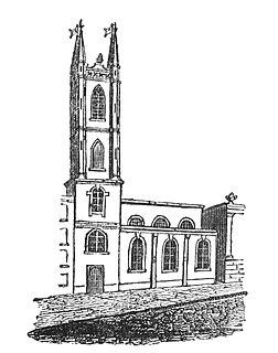 St Christopher le Stocks Church in London