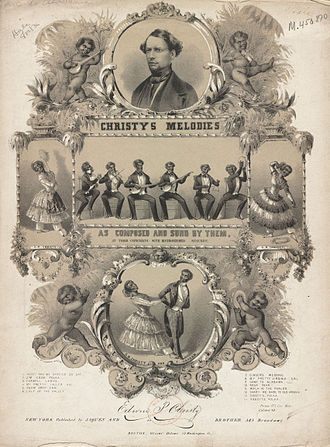 1844 in music - Christy's Minstrels in 1844