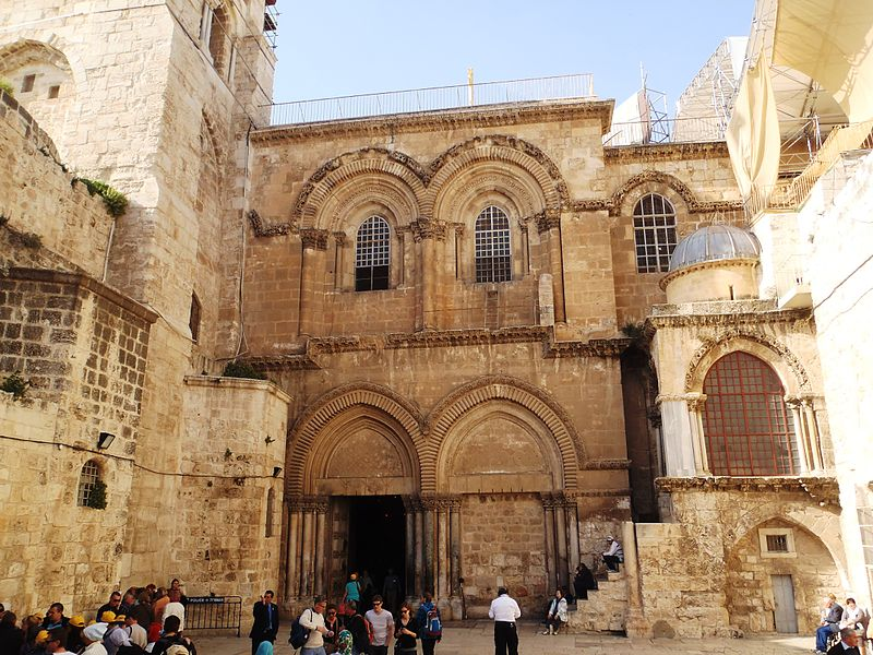 File Church Of The Holy Sepulchre Jerusalem Jpg