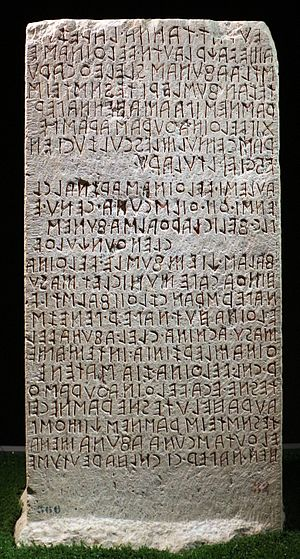 History of the alphabet - Etruscan writing, the beginning of the writing with the Latin alphabet.