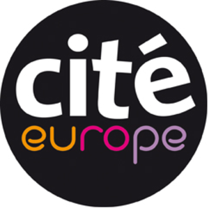 Cité Europe - Logo of the mall.