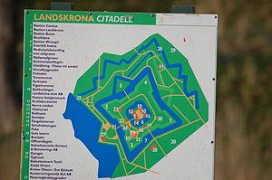 Landskrona Citadel - Image: Citadellet