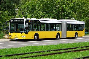 Stuttgarter Straßenbahnen - A Stuttgart low floor articulated bus