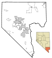Clark County Nevada Incorporated Areas.svg