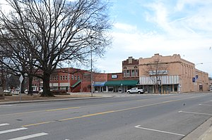 National Register of Historic Places listings in Johnson County, Arkansas - Image: Clarksville Commercial Historic District
